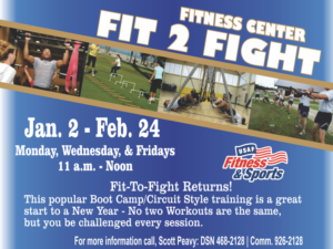 Fit 2 Fight at Fitness Center