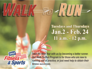 Walk to Run at the Fitness Center