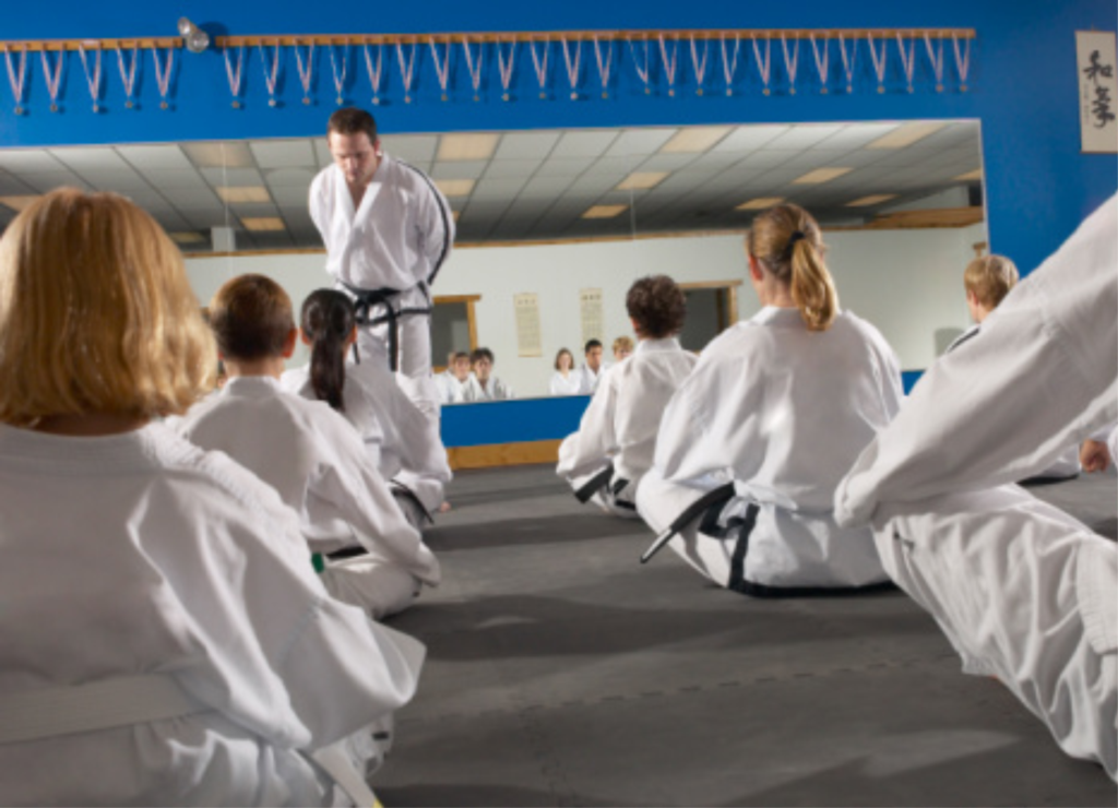 Martial Arts Classes at the Youth Center