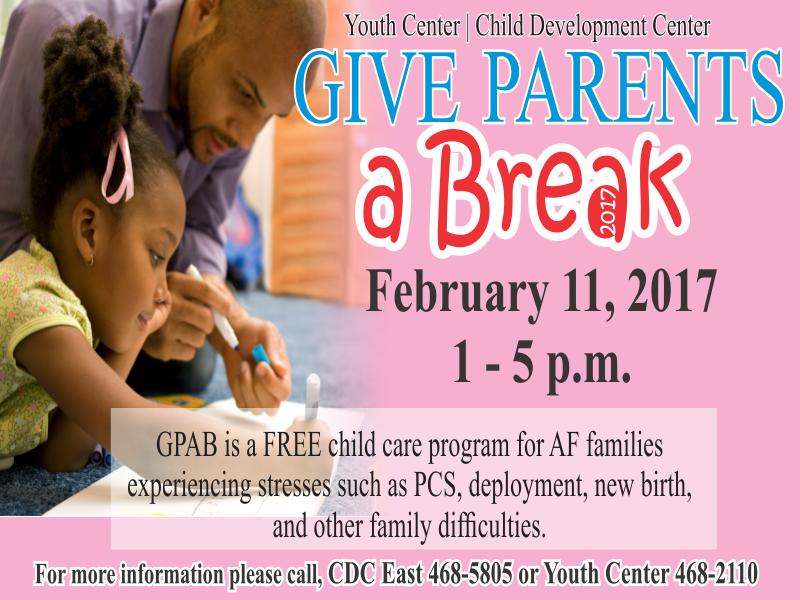 Give Parents a Break