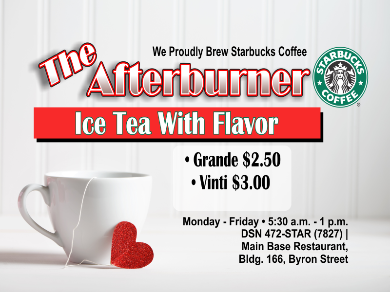 The Afterburner February Special