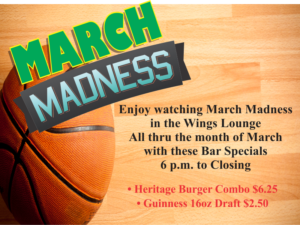 March Madness at the Heritage Lounge