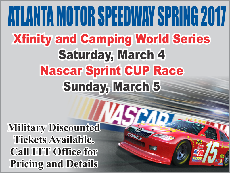 Atlanta Motor Speedway Tickets at ITT