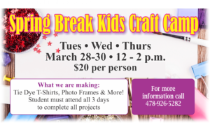 Spring Break Kids Craft Camp at Arts & Crafts