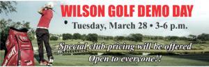 Wilson Golf Demo Day