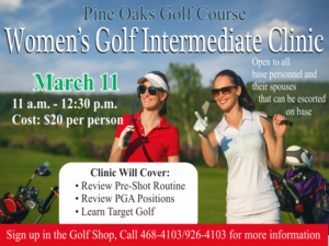 Women's Golf Intermediate Clinic