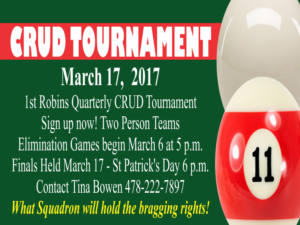 Crud Tournament at the Heritage Club