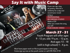 Say it with Music, Camp at the Youth Center
