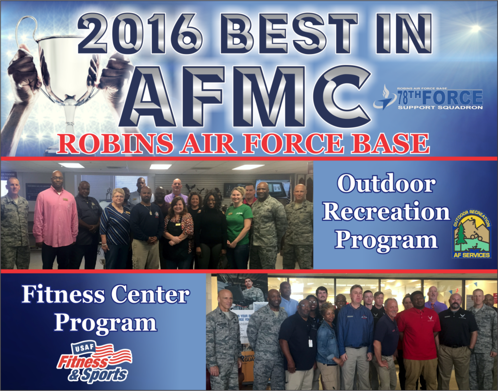 Congratulation to ODR & Fitness Center for best in AFMC 2016