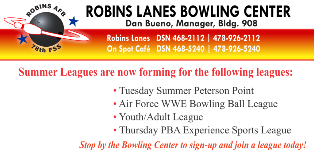Bowling Summer Leagues, Sign Ups Now Available