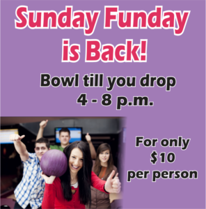 Sunday Funday is Back at Robins Lanes