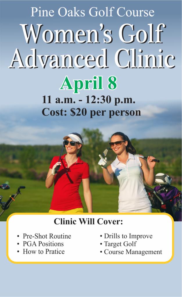 Women's Golf Advanced Clinic