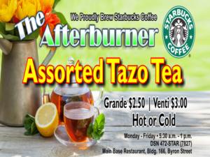 The Afterburner April Special