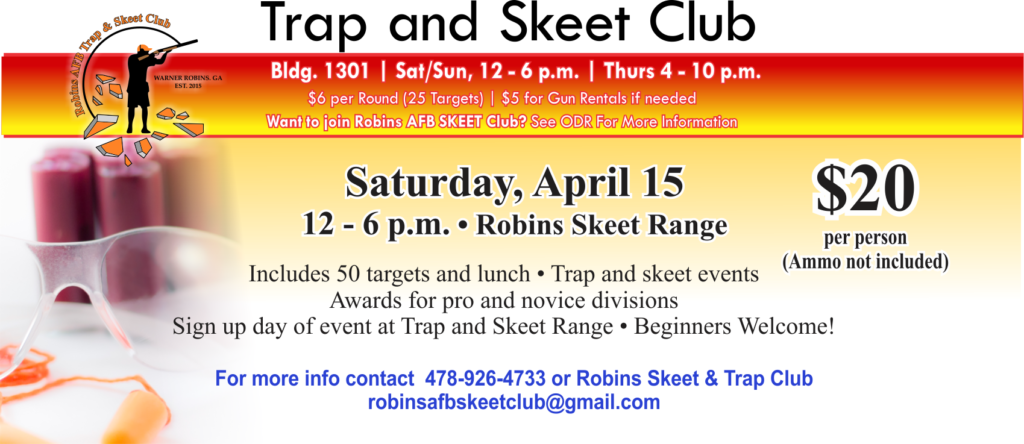 Trap and Skeet April Event
