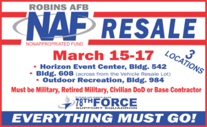 NAF RESALE Starting Today March 15th