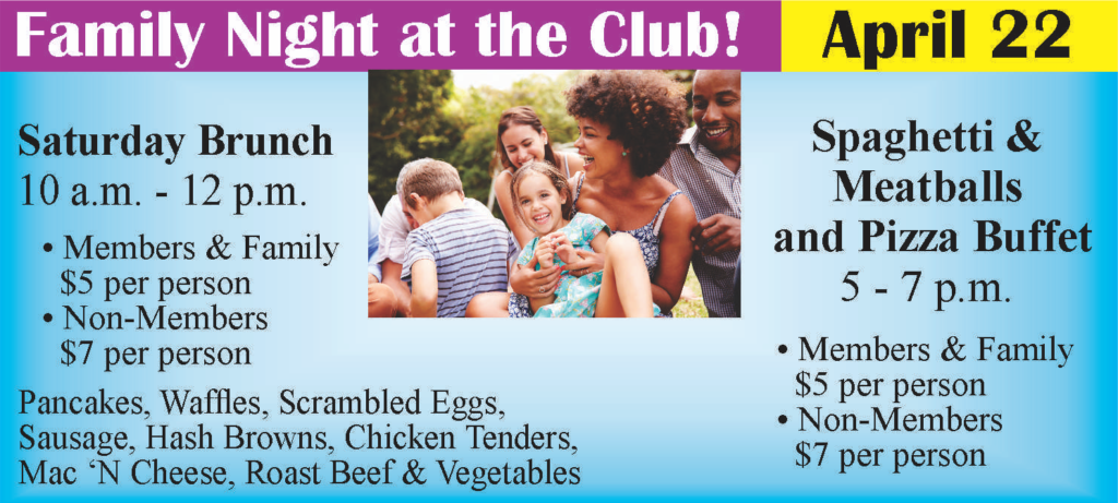 Family Night at the Club