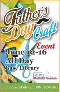 Fathers Day Craft at the Base Library