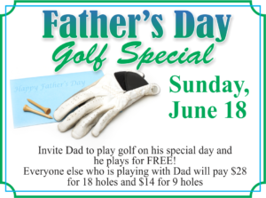 Father's Day at the Golf Course