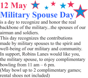 Military Spouse Day at the Bowling Center