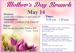 Mother's Day Brunch at the Heritage Club