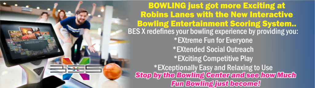 Bowling Just got more Exciting at Robins Lanes