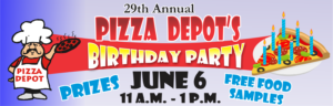 Pizza Depot's Birthday Party