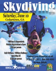 Skydiving Single Airman