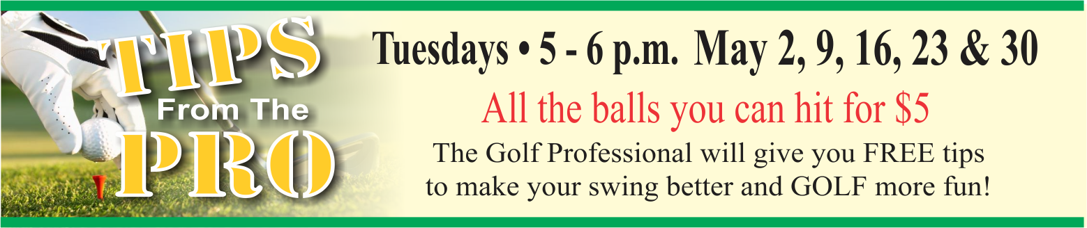 Tips from the Pro @ Golf Course