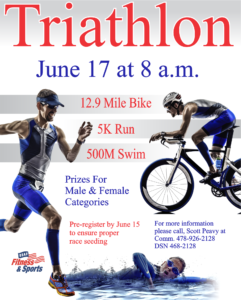 Triathlon at the Fitness Center