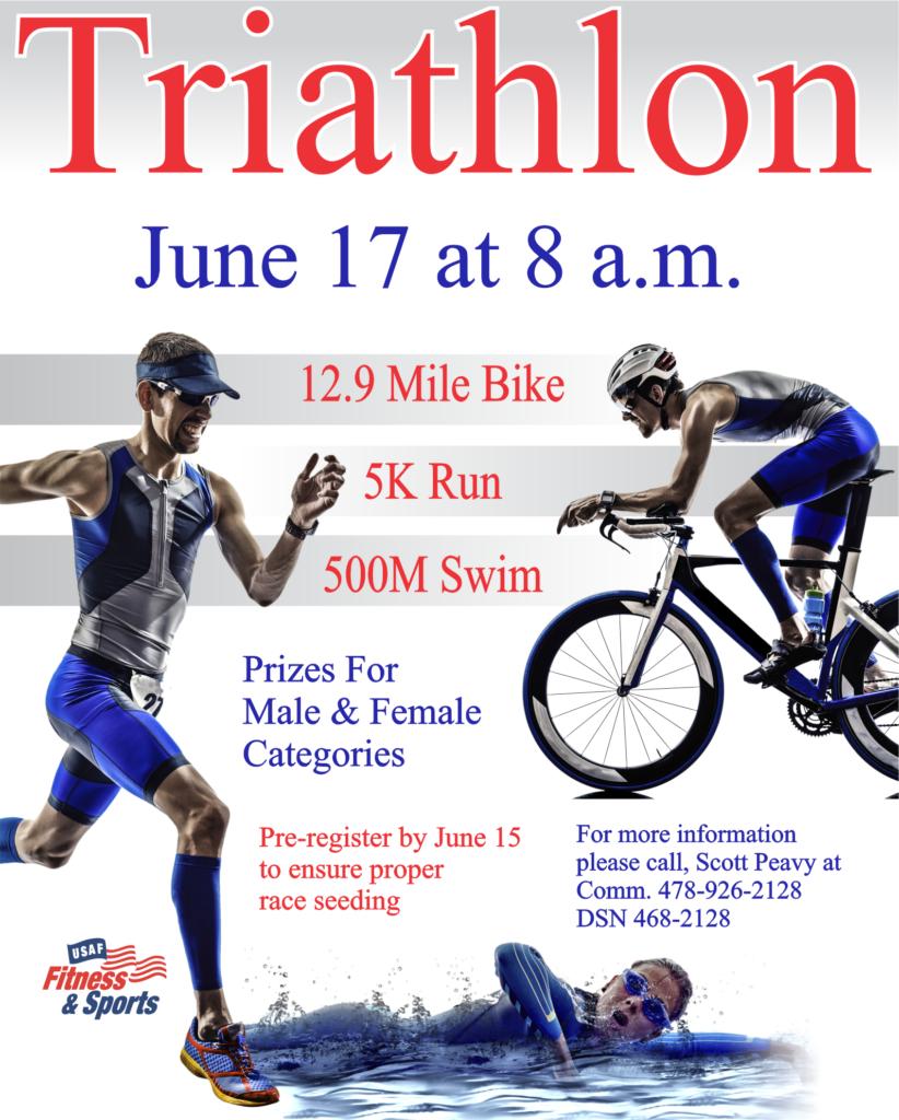 Triathlon at the Fitness Center