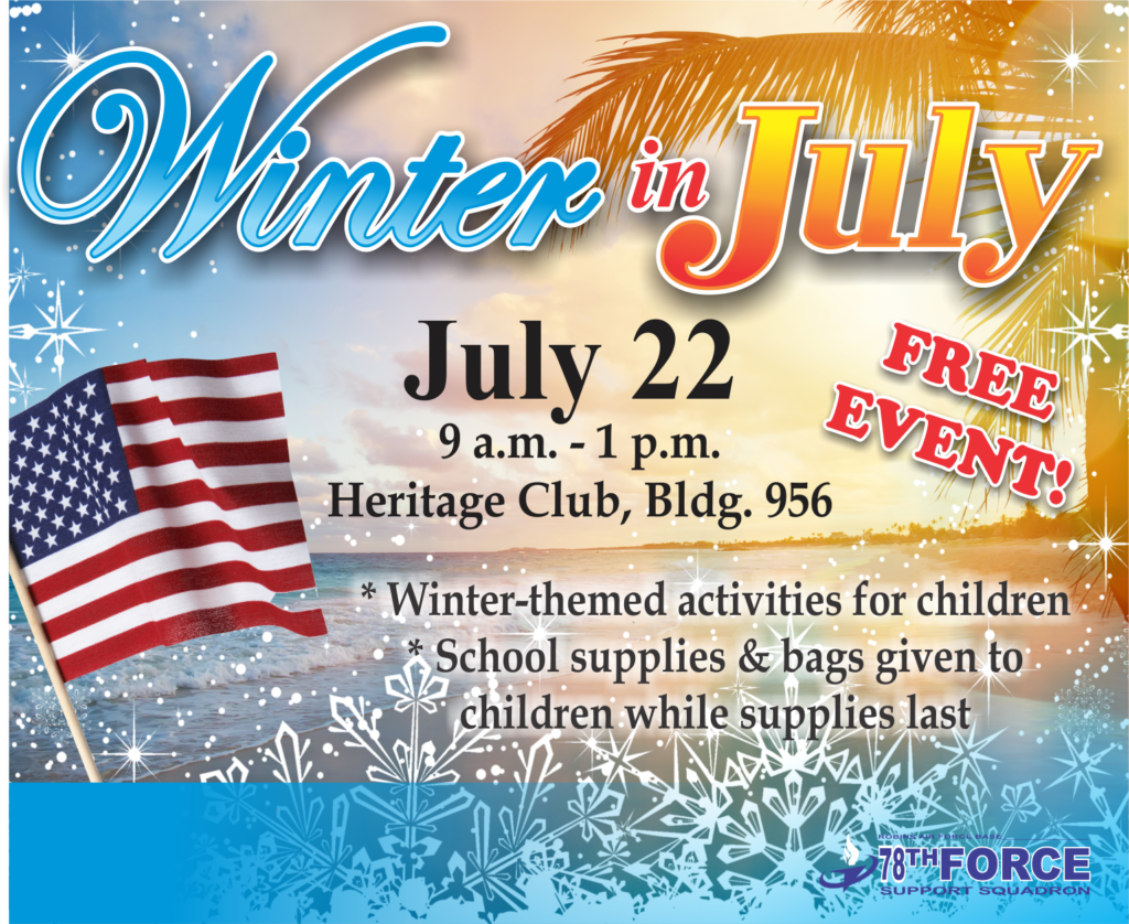 Winter in July at the Heritage Club