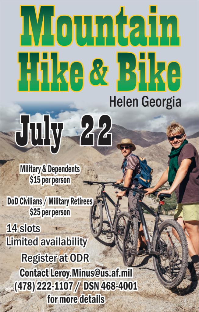 Mountain Hike & Bike, Outdoor Adventure