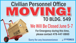Civilian Personnel Office Closed