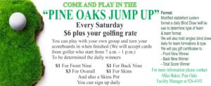 Pine Oaks Jump UP