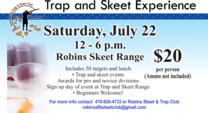 Trap and Skeet in July