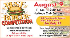 Best Burger Competition