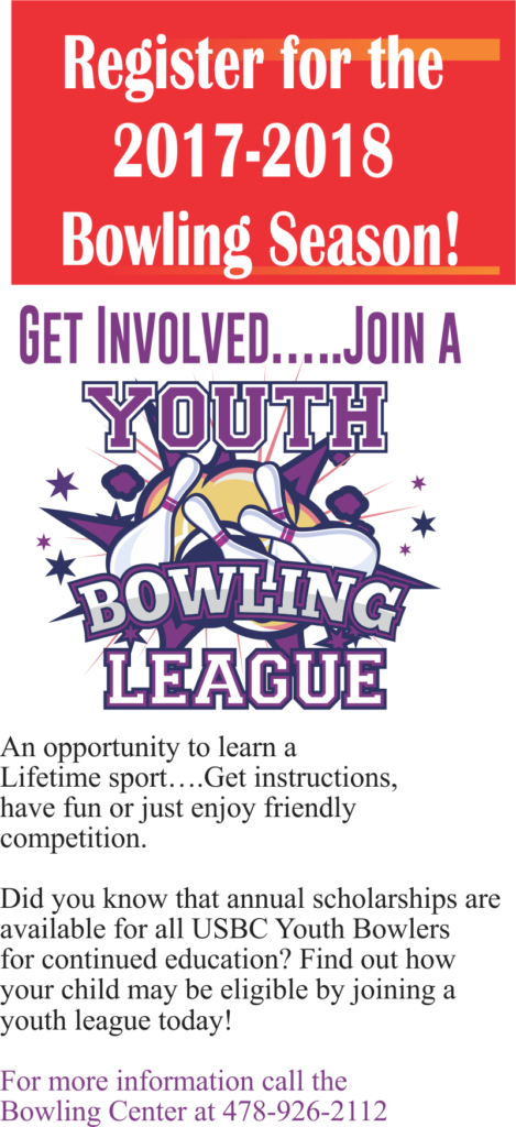 Bowling Youth League Register Now!
