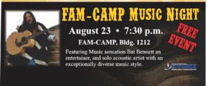 Fam Camp Music Night