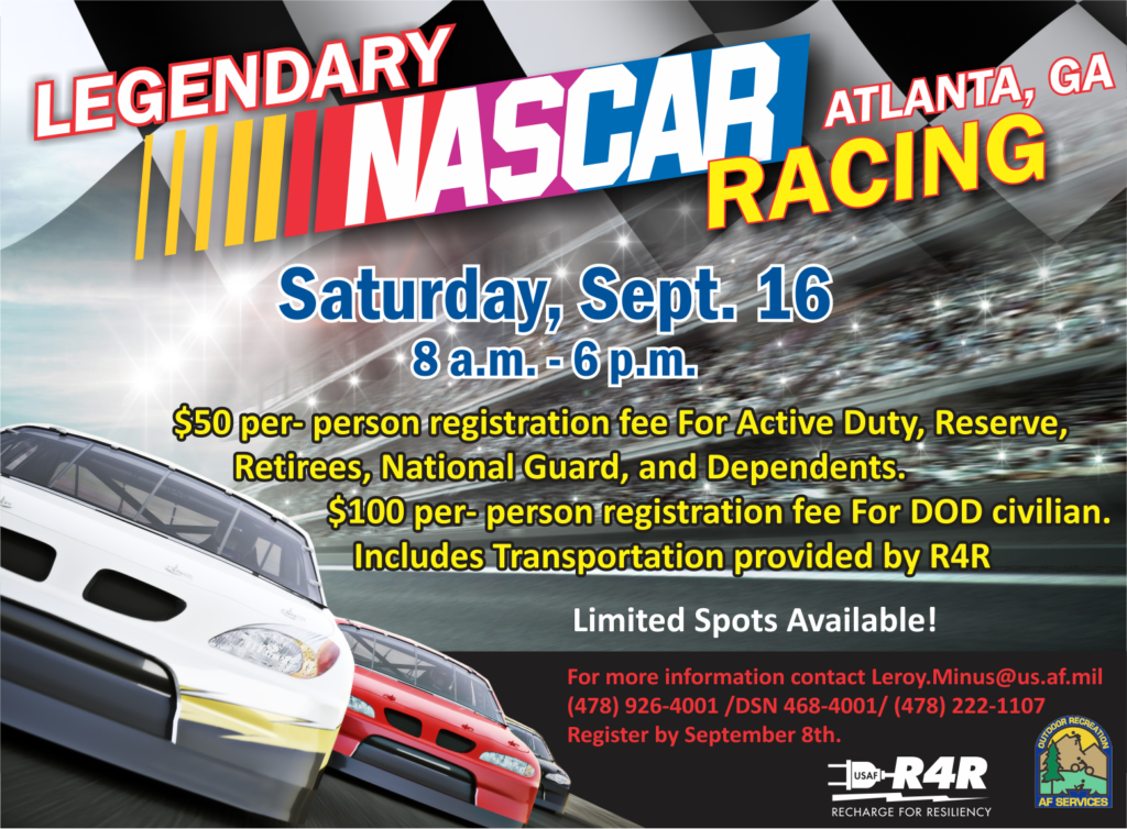 Nascar Racing Outdoor Adventure Trip