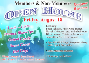 Open House at the Heritage Club