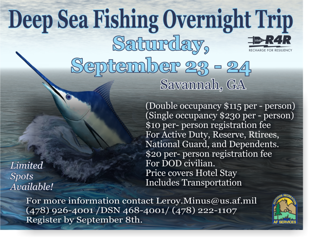 Deep Sea Fishing, Outdoor Adventure Trip