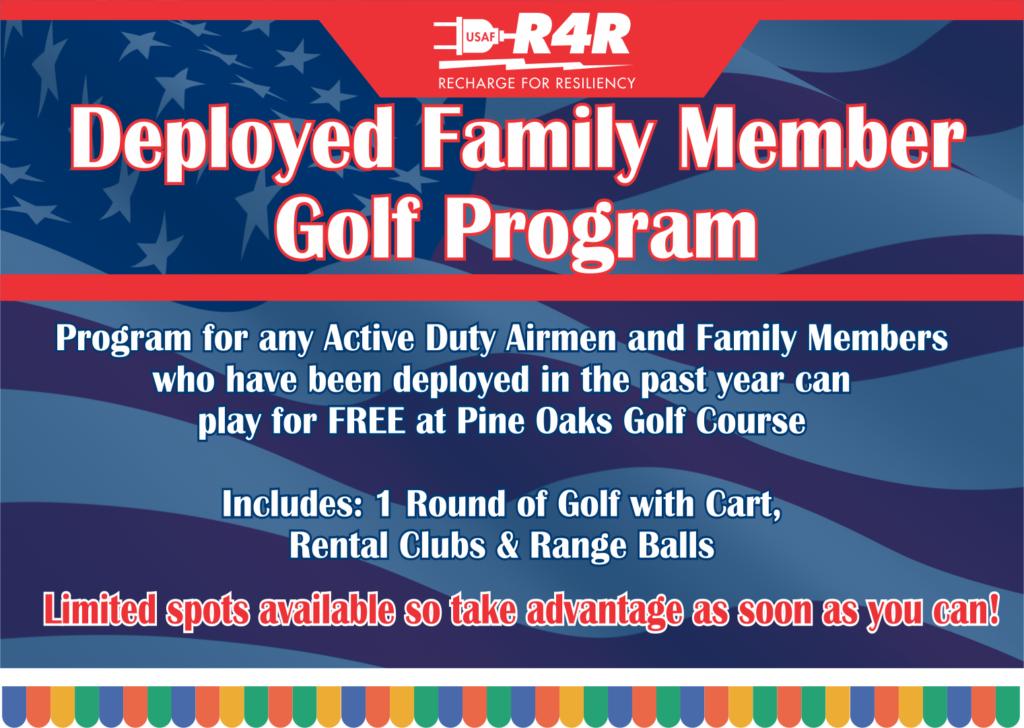 Deployed Family Member Golf Program