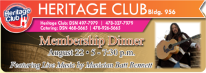 Club Membership Dinner at the Heritage Club