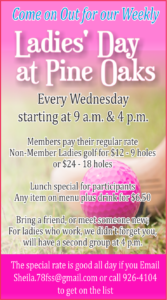 Ladies' Day at Pine Oaks