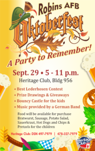 Oktoberfest at Robins AFB