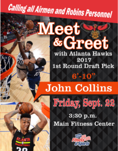 Meet & Greet with John Collins 1st Round Draft Pick for the Atlanta Hawks