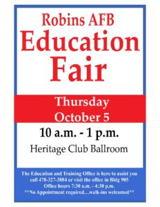 Robins AFB Education Fair 2017