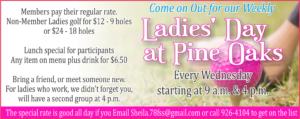 Ladies' Day at Pine Oaks Golf Course