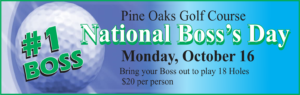 National Boss's Day at the Golf Course