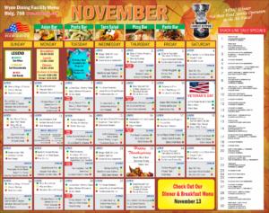 Wynn Dining November Specials